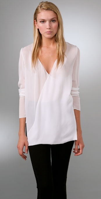 Alexander Wang Draped Front Top