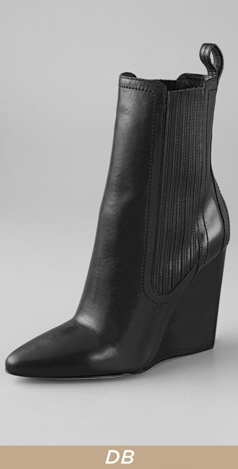 Alexander Wang Heidi Pointed Wedge Booties