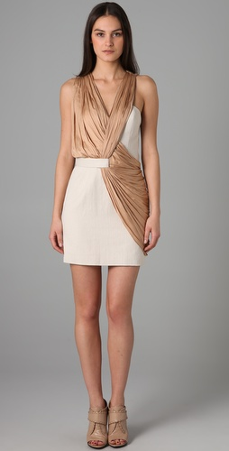 Alexander Wang Draped Tailored Dress