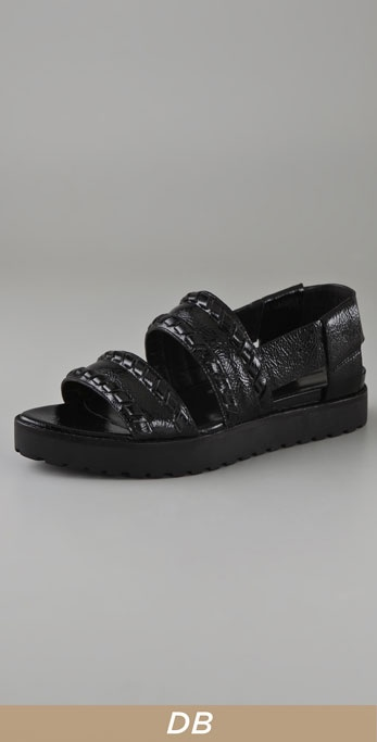 Alexander Wang Pilar Lug Sole Sandals