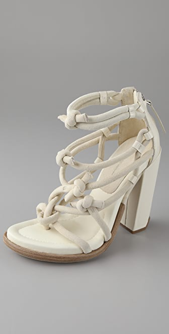 Alexander Wang Tempest Knotted Sandals