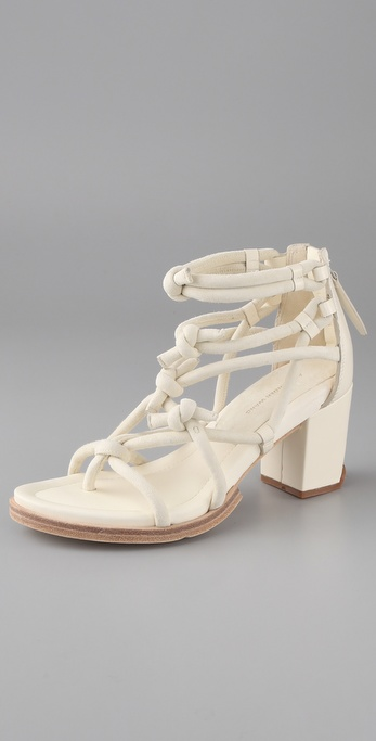 Alexander Wang Tilda Low Knotted Sandals