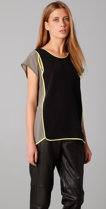 Alexander Wang Cutout Basketball Top