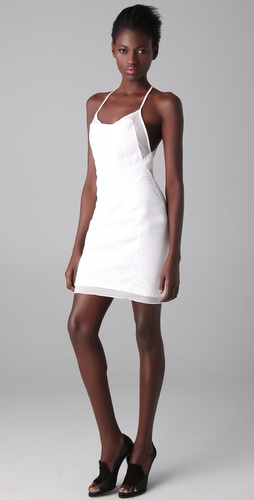 Alexander Wang Fitted Dress with Cutout Back