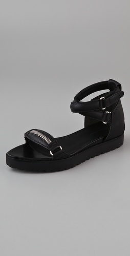 Alexander Wang Raquel Ankle Wrap Sandals