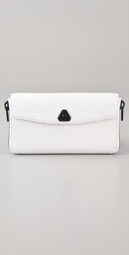 Alexander Wang Trigone Long Compact Wallet