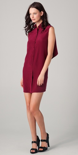 Alexander Wang Open Back Shirt Dress
