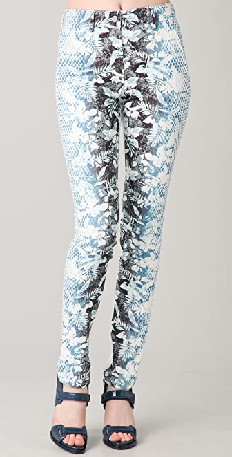 Alexander Wang Botanical Ombre Jeans