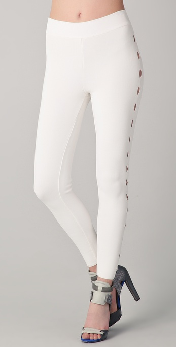 Alexander Wang Leggings with Cutouts