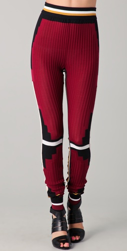 Alexander Wang Athletic Patchwork Sweatpants