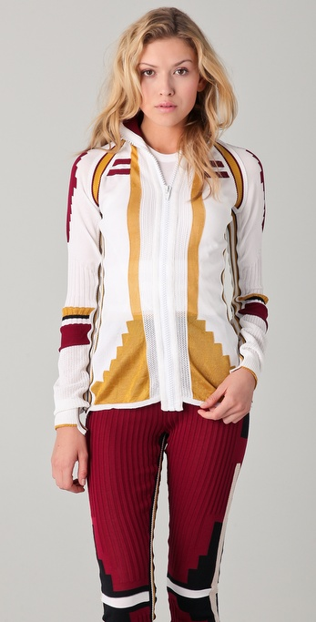 Alexander Wang Athletic Patchwork Cardigan