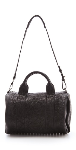 Shop Alexander Wang Rocco Duffel with Silver Hardware and Alexander Wang online - Accessories,Womens,Handbags,Duffle, online Store