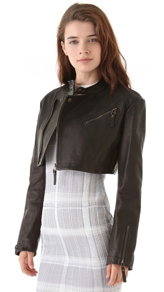 cropped jacket edgy