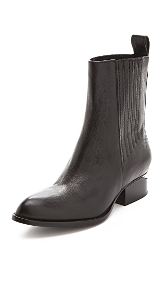 Alexander Wang Anouck Chelsea Boots with Black Hardware
