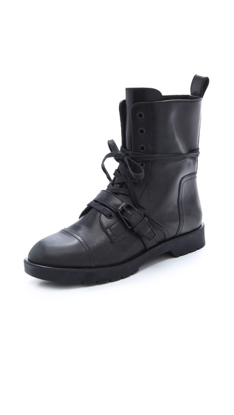 Alexander Wang Daria High Combat Boots