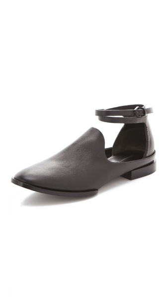 Alexander Wang Astrid Cutout Flat Booties