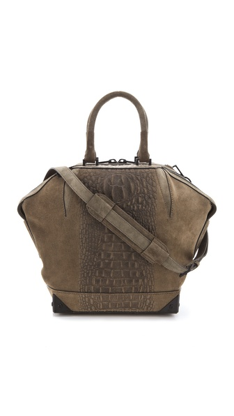 Alexander Wang Emile Suede Satchel