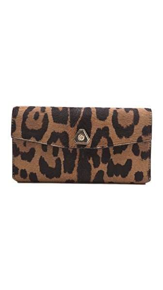 Alexander Wang Trigone Haircalf Long Wallet