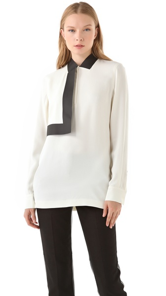 Alexander Wang Bonded Collar Blouse