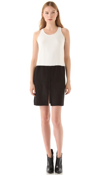 Alexander Wang Exposed Seam Tank Dress