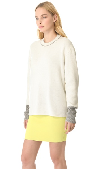 Alexander Wang Reversible Long Pullover