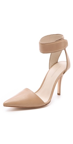 Shop Alexander Wang Liya Ankle Strap Pumps - Alexander Wang online - Footwear,Womens,Footwear,Pumps_(Heels), at Lilychic Australian Clothes Online Store