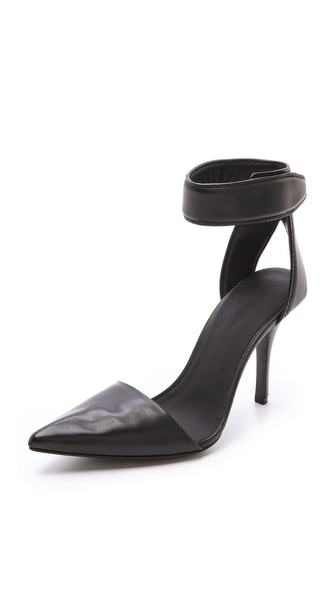 Alexander Wang Liya Ankle Strap Pumps