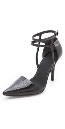 Alexander Wang Emma Ankle Strap Pumps at Shopbop.com
