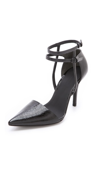 Alexander Wang Emma Ankle Strap Pumps