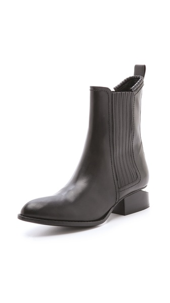 Alexander Wang Anouck Chelsea Booties With Tonal Hardware - Black at Shopbop / East Dane