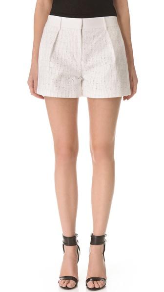 Alexander Wang Boxy Eyelet Shorts