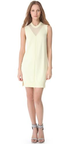 Alexander Wang Fine Gauge Jersey Dress