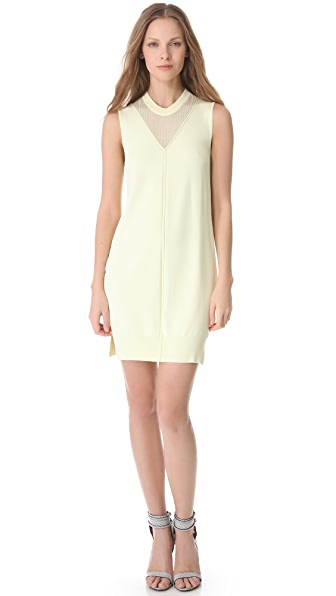 Alexander Wang Fine Gauge Jersey Dress