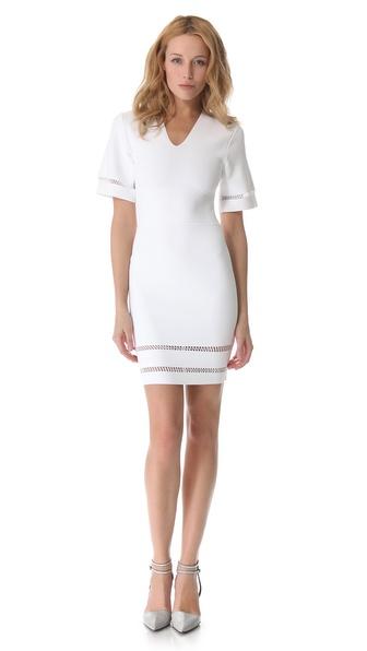 Alexander Wang Suspension Short Sleeve Dress