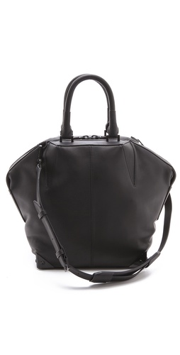 Alexander Wang Small Emile Laminated Satchel at Shopbop.com