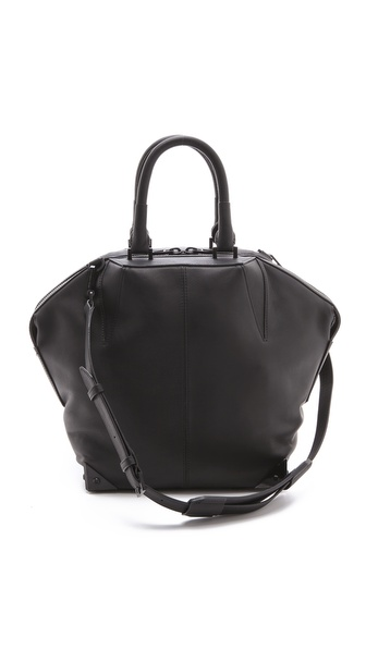 Alexander Wang Small Emile Laminated Satchel