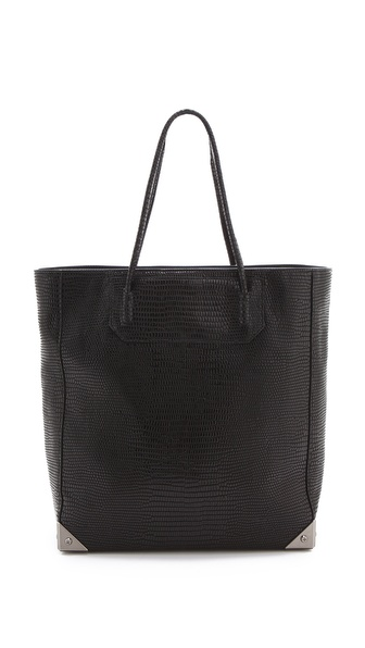 Alexander Wang Prisma Lizard Embossed Tote