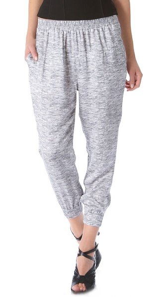 Alexander Wang Cropped Track Pants
