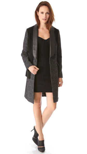 Alexander Wang Tailored External Lining Coat