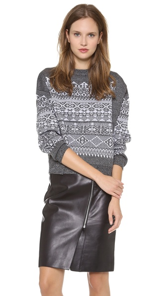 Alexander Wang Fair Isle Sweater