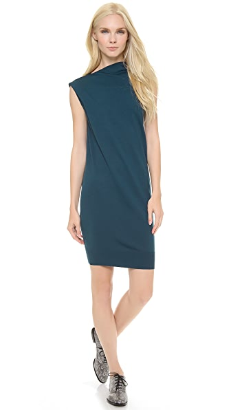 Alexander Wang Draped Merino Dress