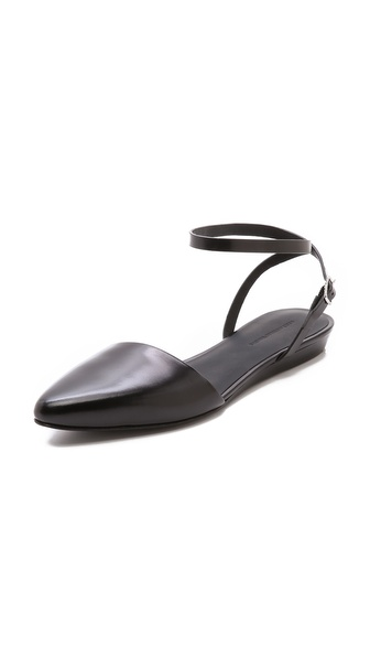 Alexander Wang Esther Ankle Strap Flats