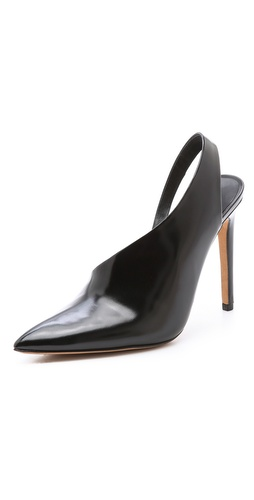 Alexander Wang Edie Asymmetrical Pumps at Shopbop / East Dane