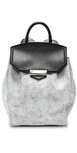 Alexander Wang Prisma Cracked Skeletal Backpack at Shopbop / East Dane