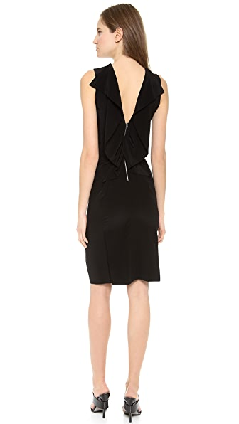 Alexander Wang Open Folded Back Slim Dress