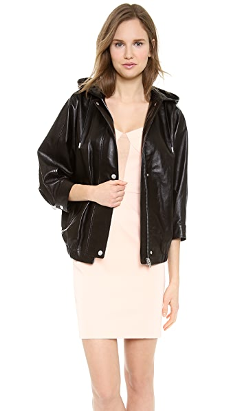 Alexander Wang Leather Parka