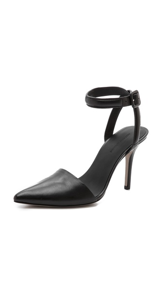 Alexander Wang Lovisa Ankle Strap Pumps - Black at Shopbop / East Dane