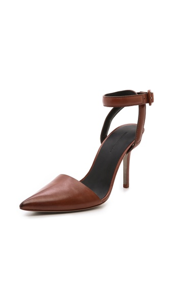 Alexander Wang Lovisa Pumps - Blood Orange at Shopbop / East Dane