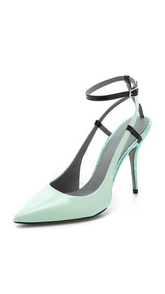 Alexander Wang Jodie Ankle Strap Pumps - Peppermint at Shopbop / East Dane