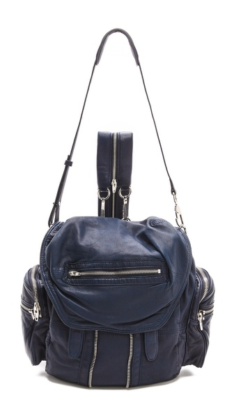 Alexander Wang Marti Washed Backpack